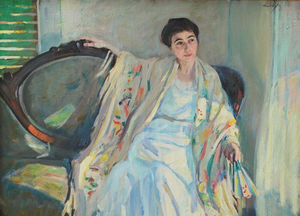 Charles Alden Gray, Portrait of Mrs. McCoy.JPG