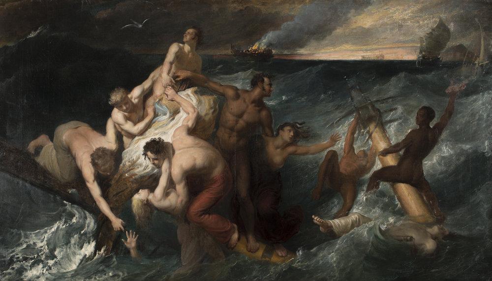 Attr. Theodore Gericault, Epic of the Sea.jpg