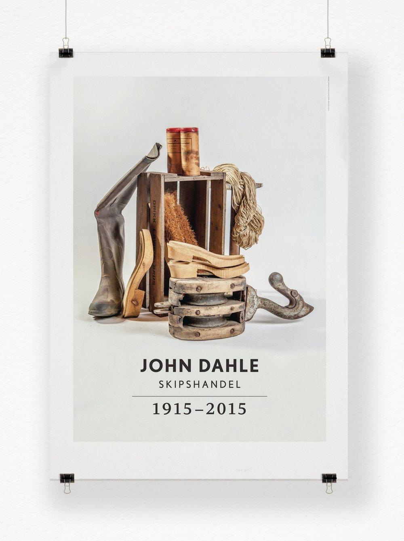 Art direction and design for book project JOHN DALE SKIPSHANDEL / Impress publisering. Photo: Arne Bru Haug