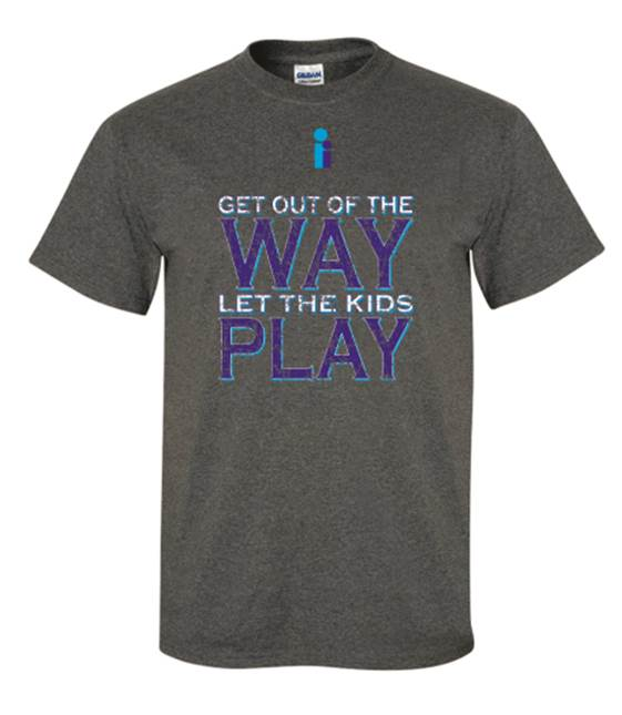 "Option #2: ""Get out of the way and let the kids play."