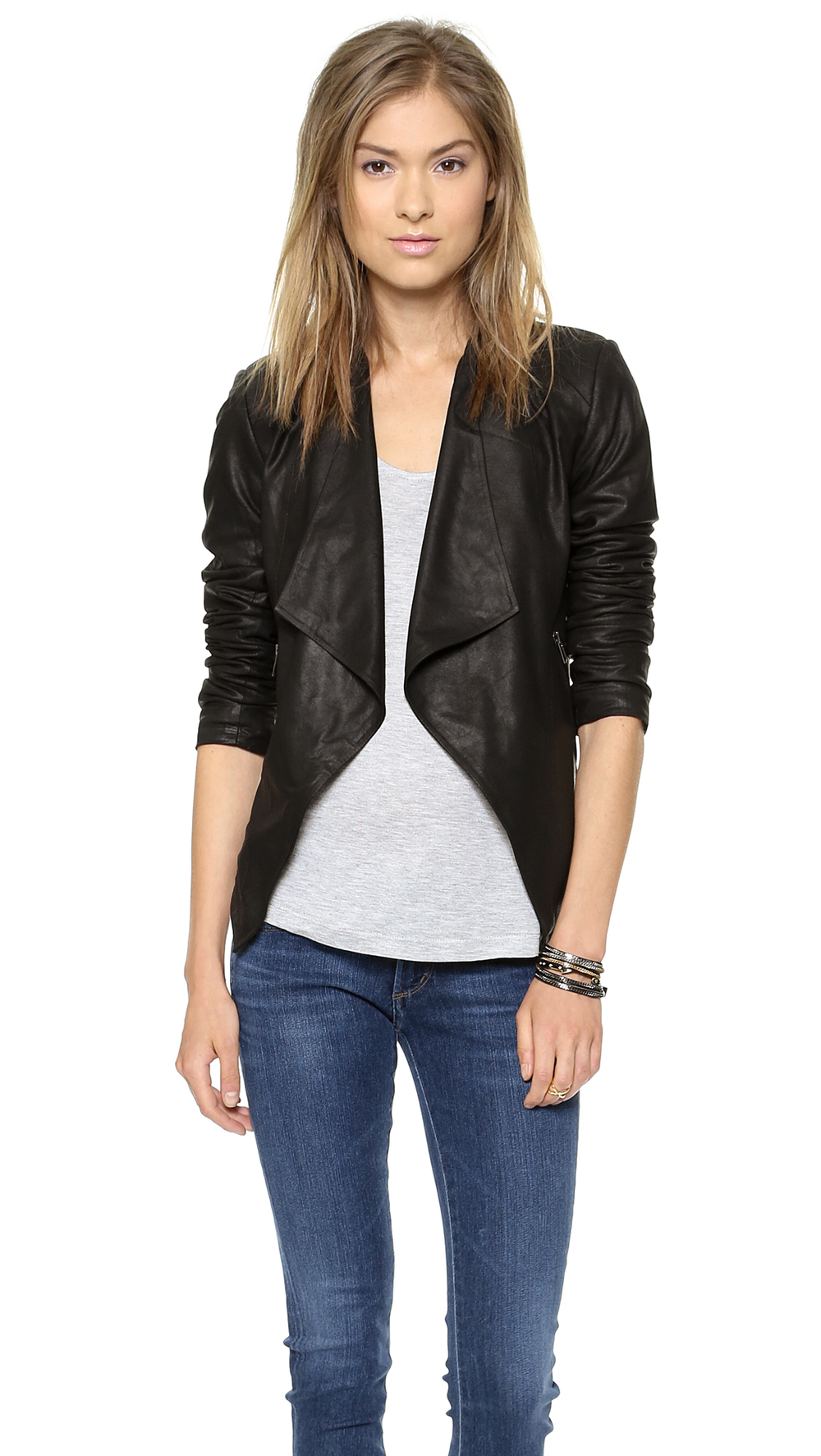BB Dakota  Tyne Leather Jacket  ($294)