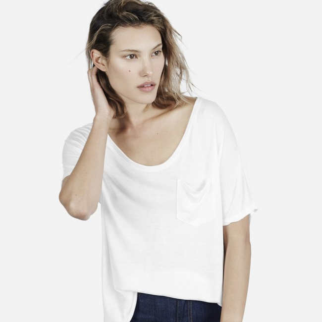 Everlane The Ryan Pocket Tee ($25) from Everlane