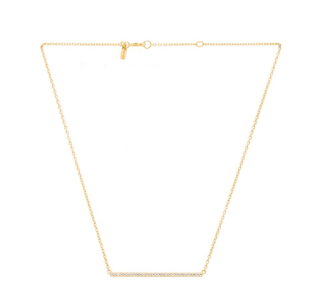 Elizabeth and James Delgado Necklace ($215) from Revolve Clothing