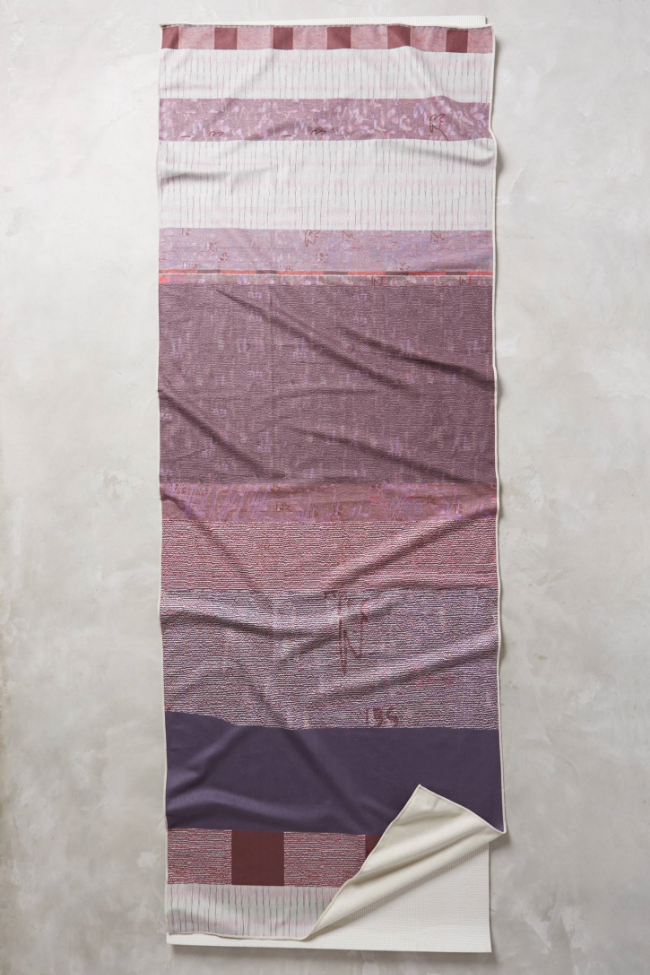 Dayfade Yoga Towel ($64) from  Anthropologie