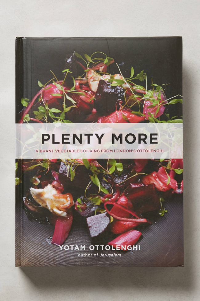Plenty More Cookbook by Yotam Ottolenghi ($35) from Anthropologie