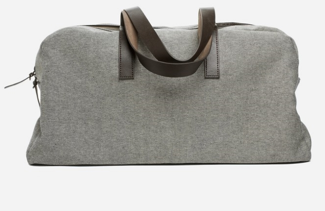 Everlane The Twill Weekender ($95) from Everlane