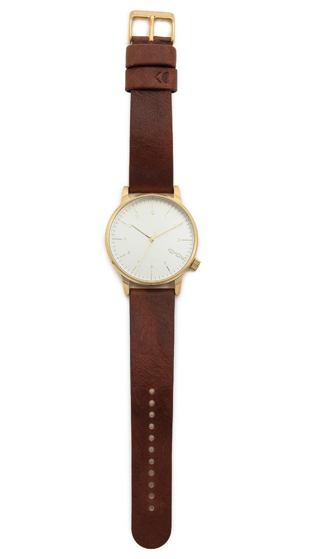 Komono Winston Regal Watch ($100) from East Dane