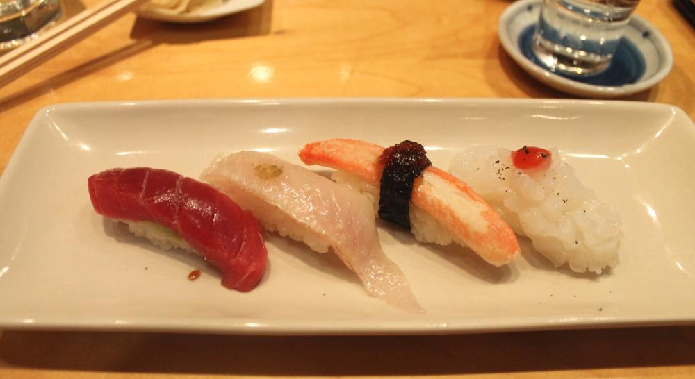 Sushi Round 1