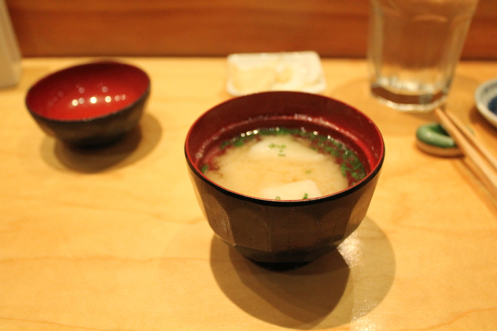 Seabass Miso Soup