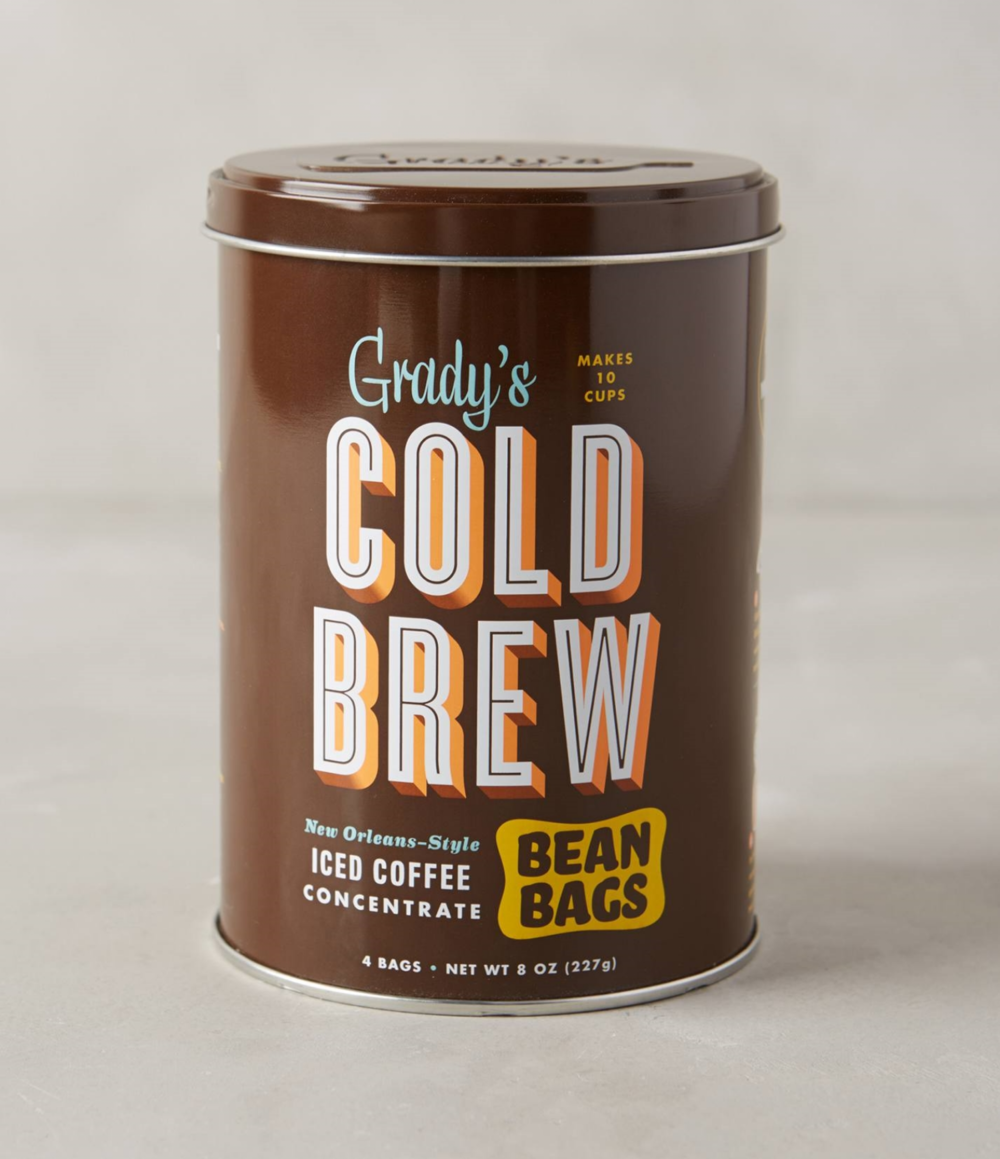 Grady's Cold Brew Coffee ($12) from  Anthropologie