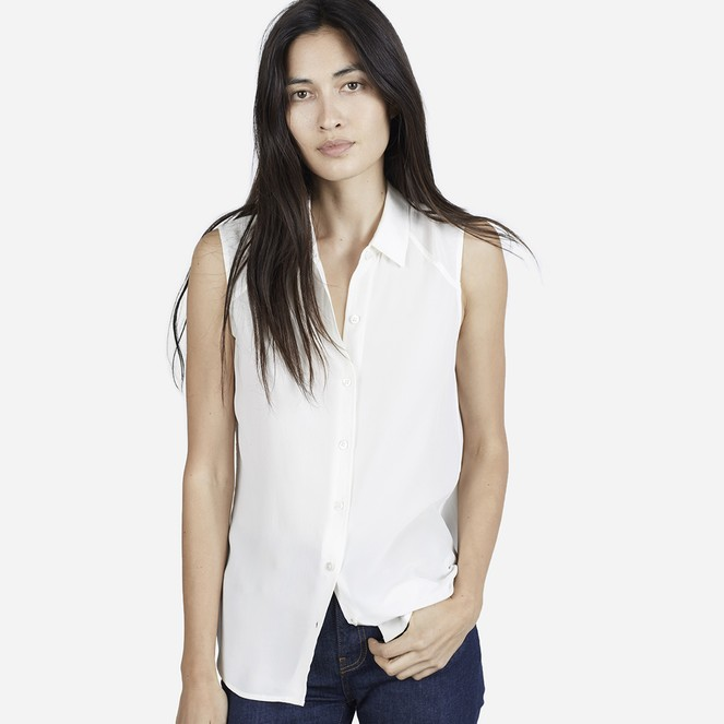 The Silk Sleeveless Top ($60)