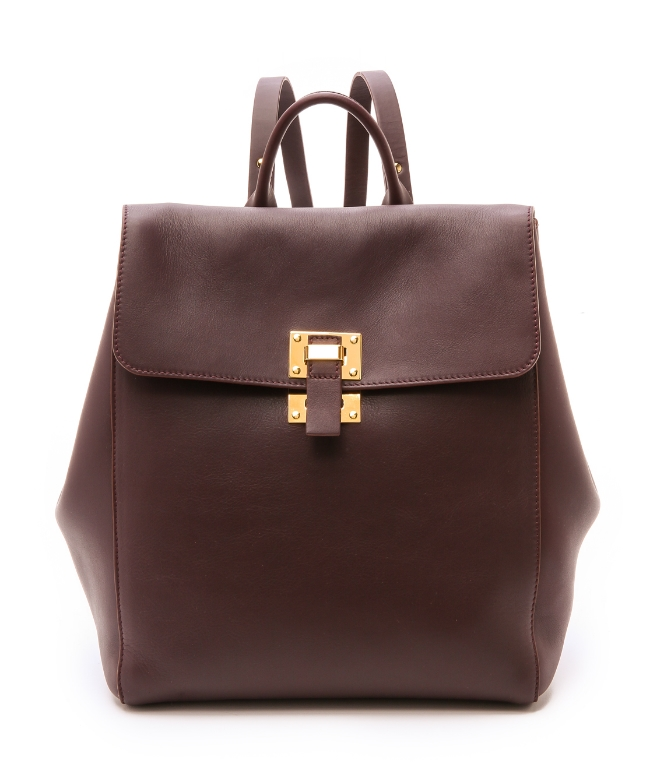 Sophie Hulme Soft Flap Rucksack ($865) from Shopbop