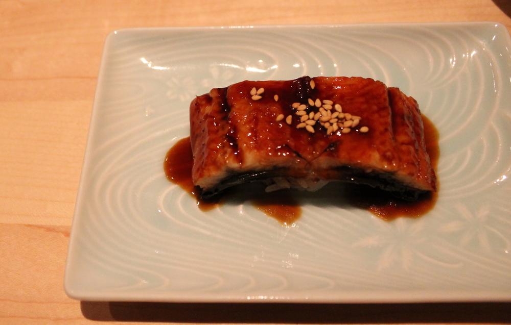 Japanese Unagi (Freshwater Eel) Nigiri
