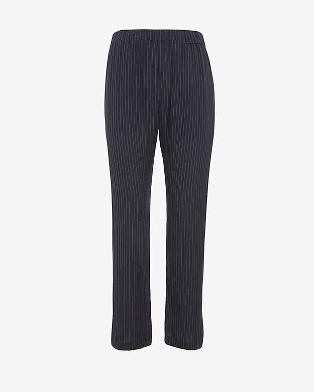 Theory Pinstripe Silk Pant, $70