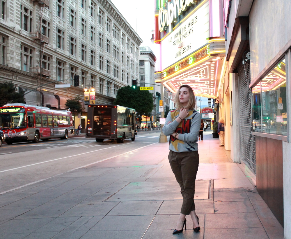 Wear to what in downtown los angeles photos