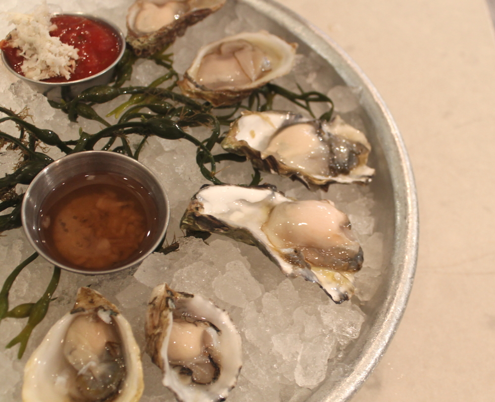 We took a mid-concert oyster break at Blue Plate Oysterette on Ocean