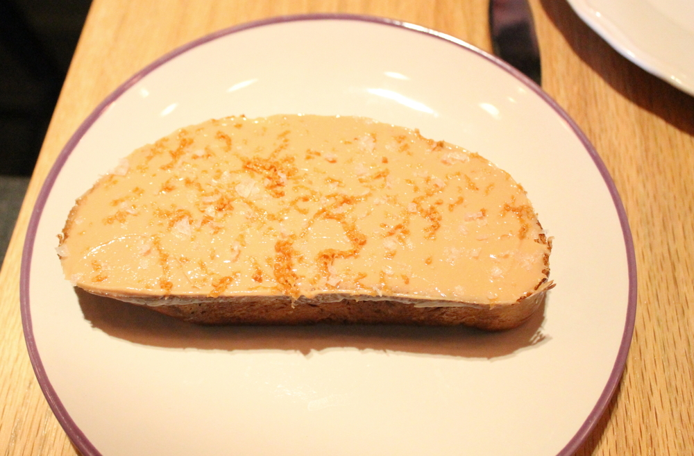 Rebanda: Pan Dulce, Foie Gras Butter, Piloncillo