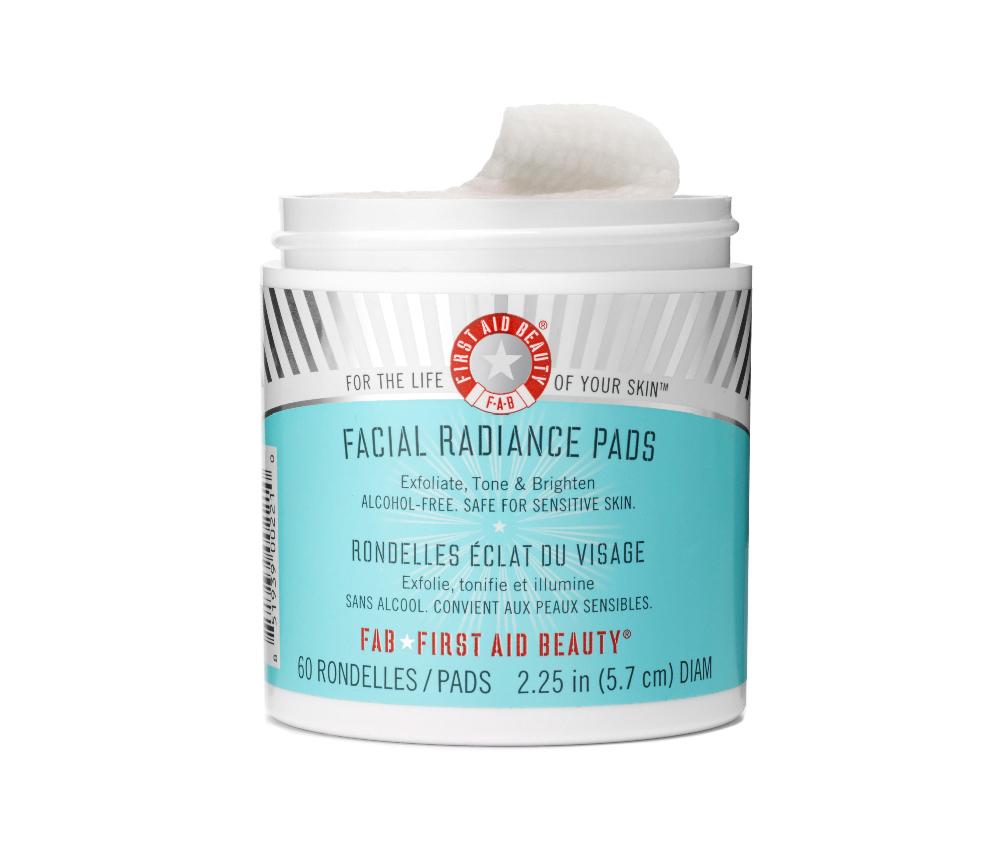 Facial Radiance Pads, $30