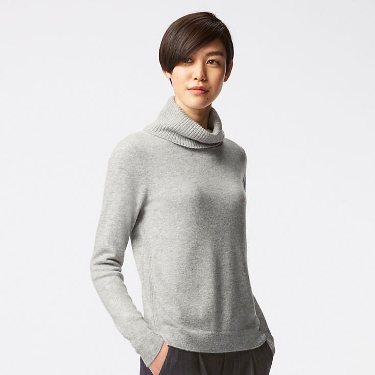 Cashmere Turtleneck Sweater,  Uniqlo , $80