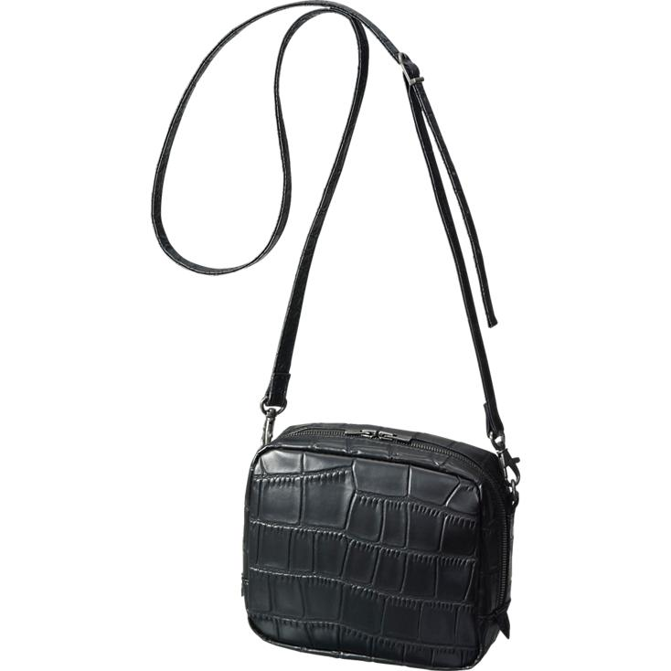 Croc Pattern Shoulder Bag,  Uniqlo , $30