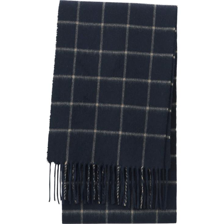 Cashmere Checked Scarf,  Uniqlo , $50
