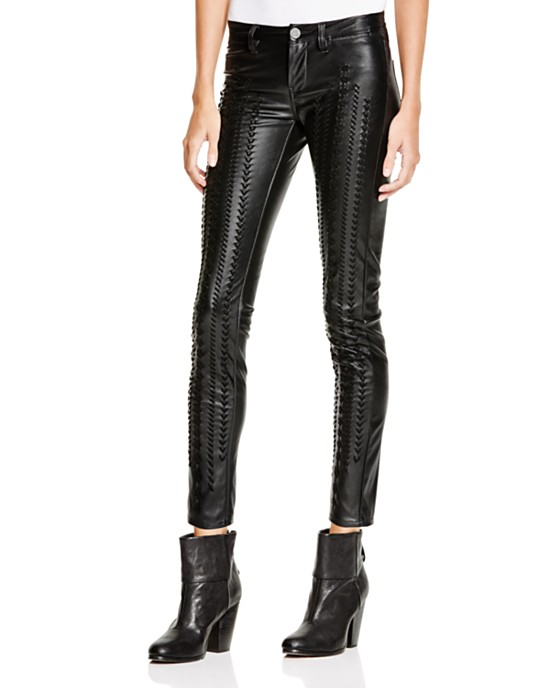 Blank NYC Faux Leather Pants,  Bloomingdales , $118