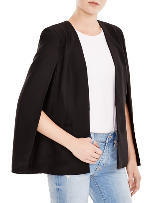 BB Dakota Cape Blazer,  Bloomingdales,  $63