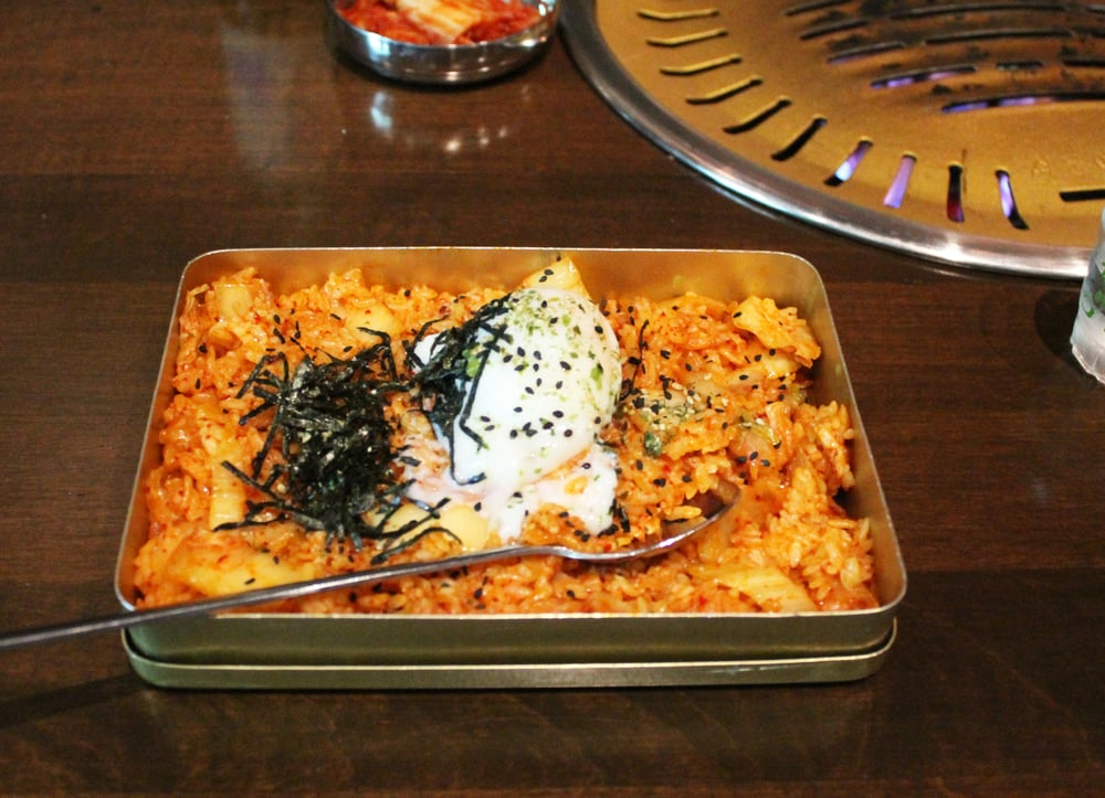 The Kimchi Fried Rice at Hanjip