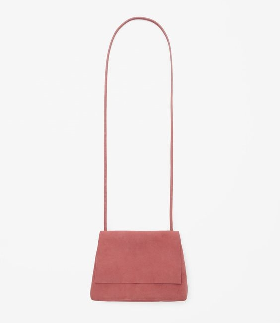 Suede Shoulder Bag, $115, COS