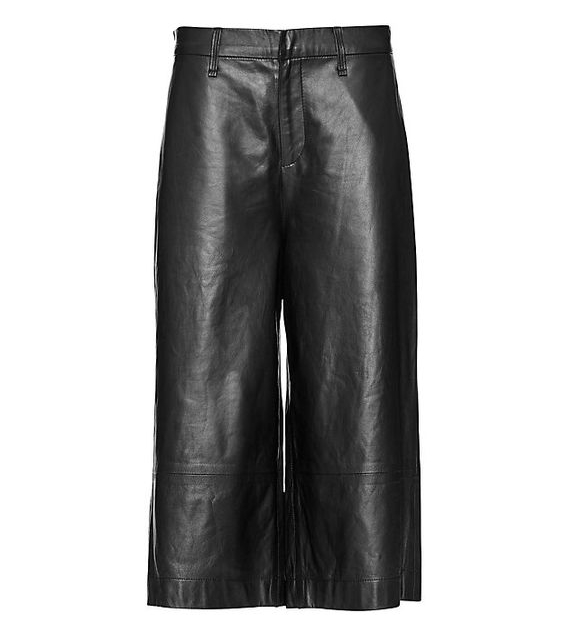 Rag & Bone Leather Culottes, $229,  Intermix