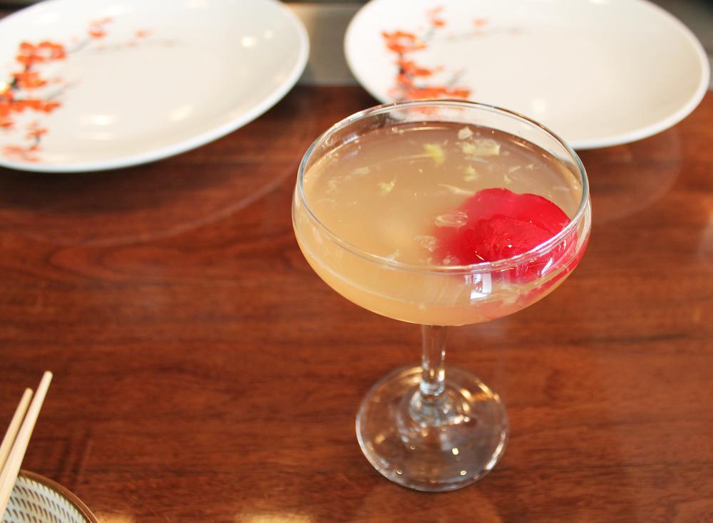 Cucumber Rose: Stoli vodka, Cucumber, St. Germain, Rosewater, Grapefruit Juice