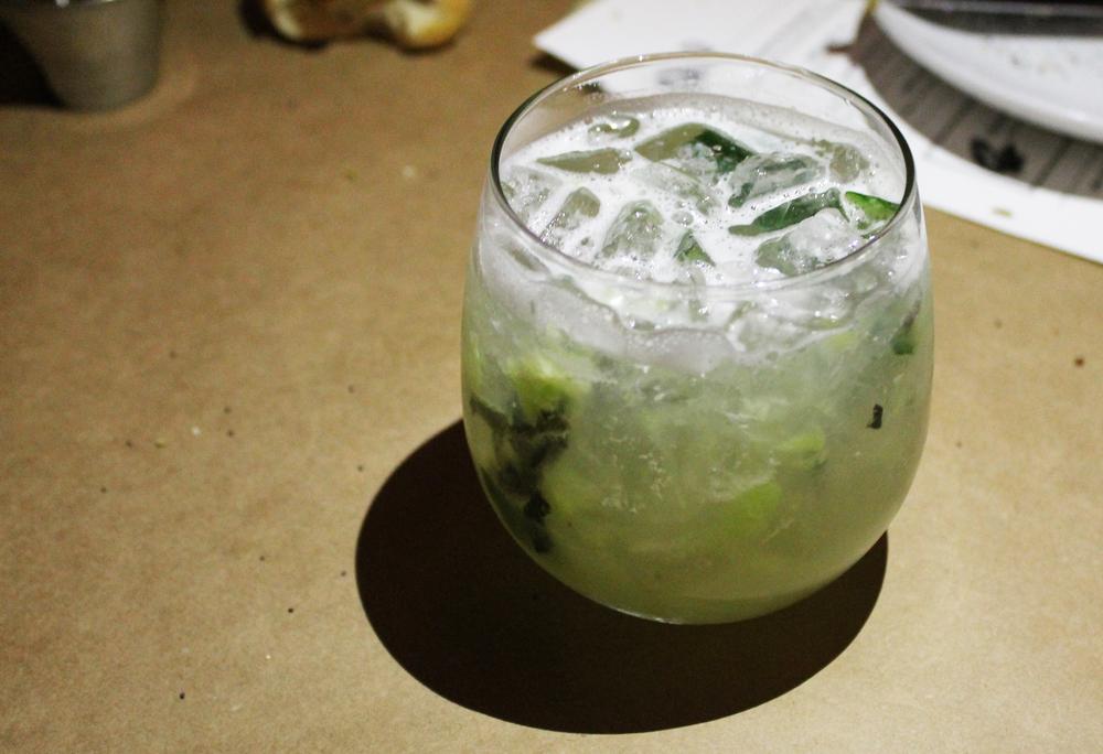 Tito's Vodka + Greens + Thyme