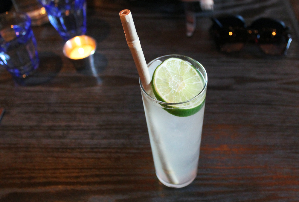 Thai Hi-Five: Aviation gin, raw coconut oil, house-made lemongrass soda, lemon and lime