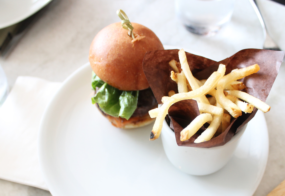 F&O Slider Burger