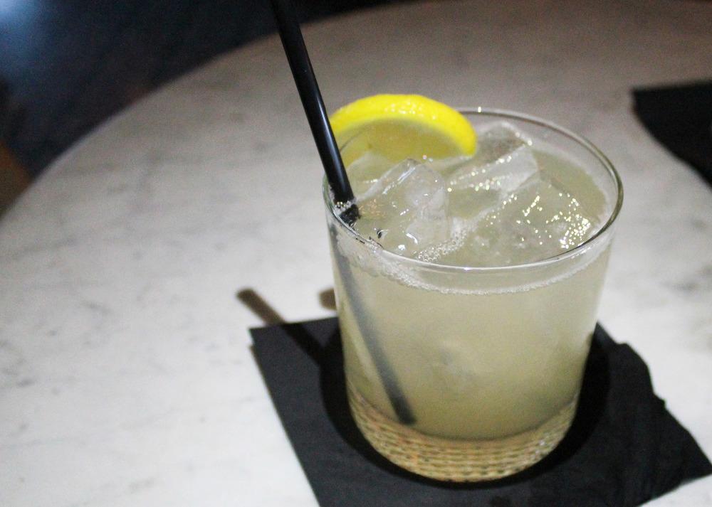 3rd Street Elyxir: Absolut Elyx, Giffard's Elderflower, St. George Spiced Pear, Lemon