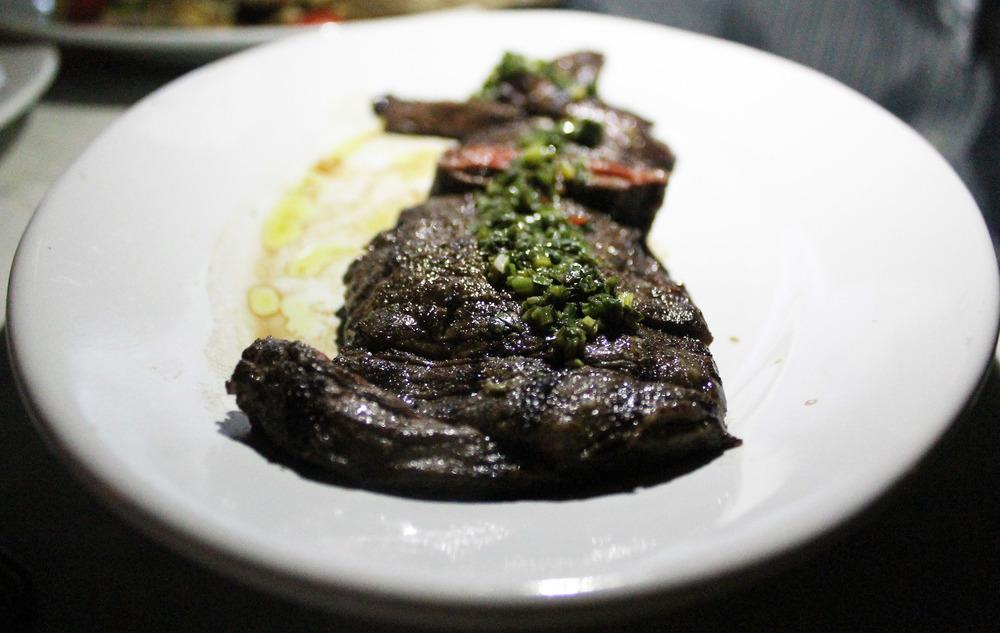 Skirt Steak w/ Chimichurri