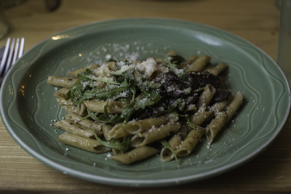Photo by Julia Rich : Mushroom Pasta
