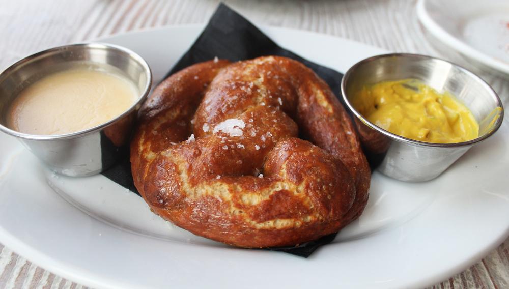 Warm Buttered Pretzel