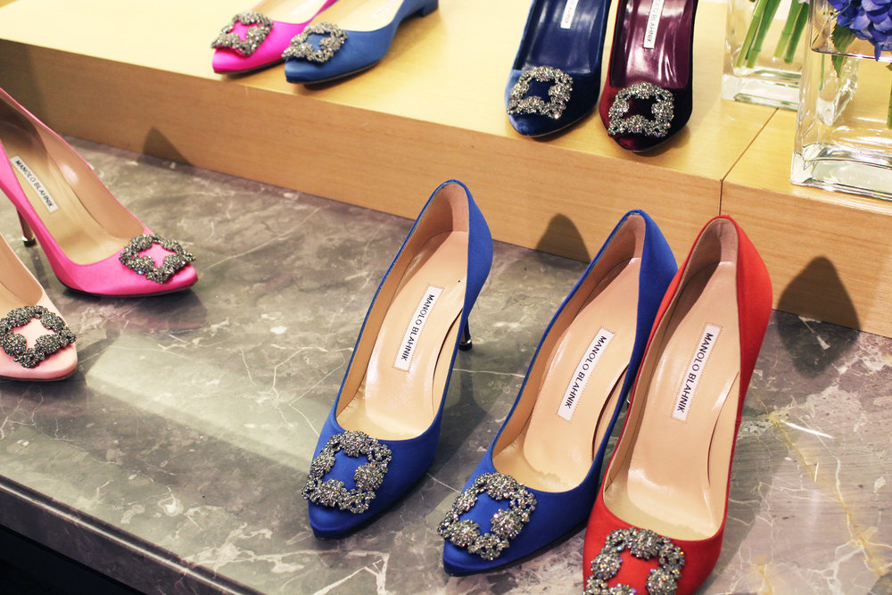 "The famous ""Hangisi"" shoe from Manolo Blahnik"