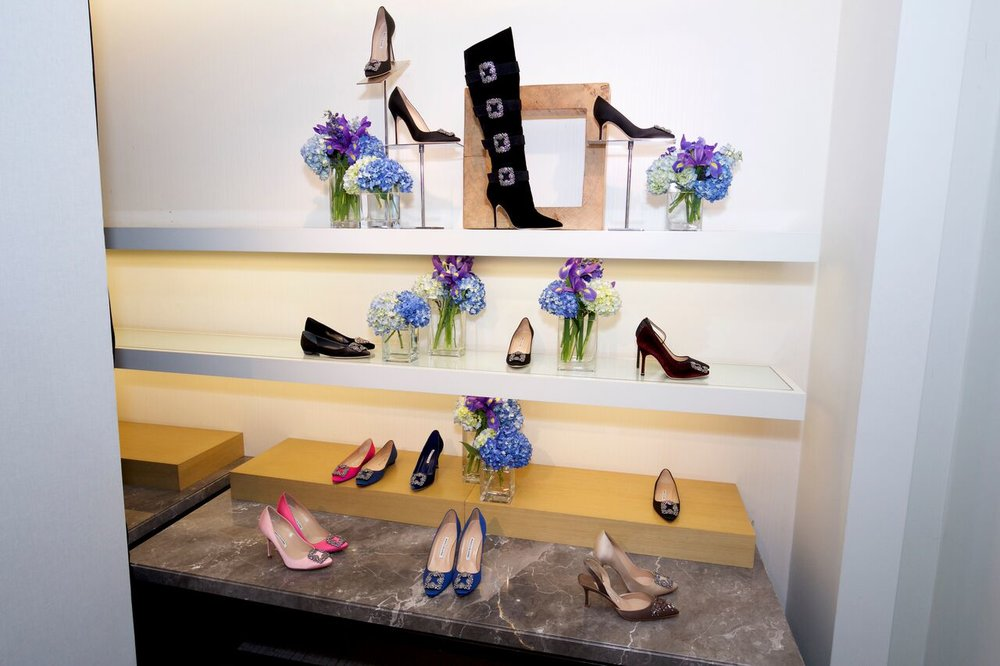 The Blahnik Wall