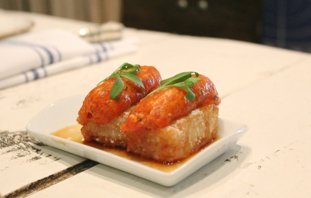 Spicy Tuna on Crispy Rice