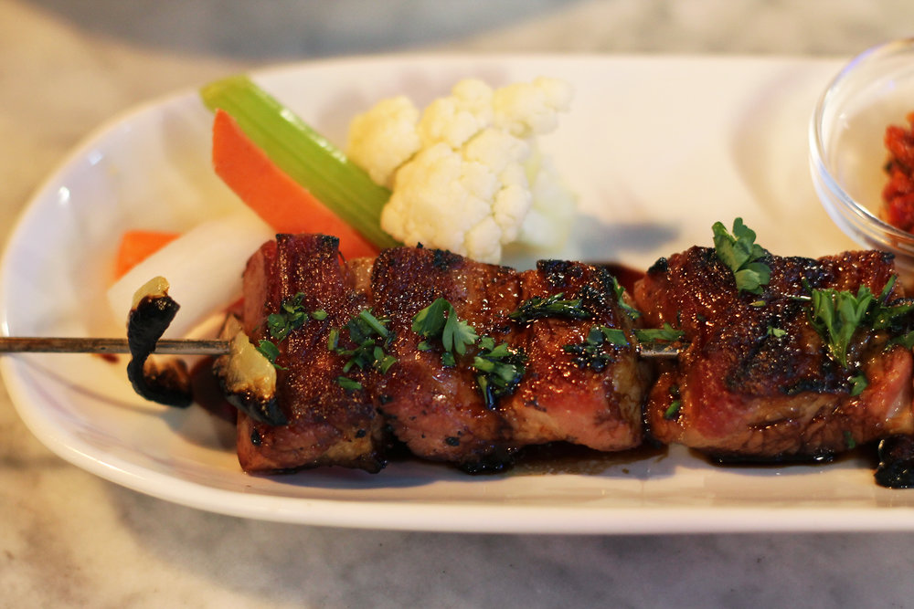 Pork Belly Kebab