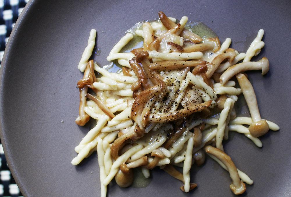 Mushroom Truffle Fusilli