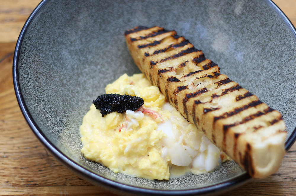 Lobster Scramble with Caviar