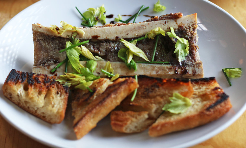 Bone Marrow and Toasted Bread