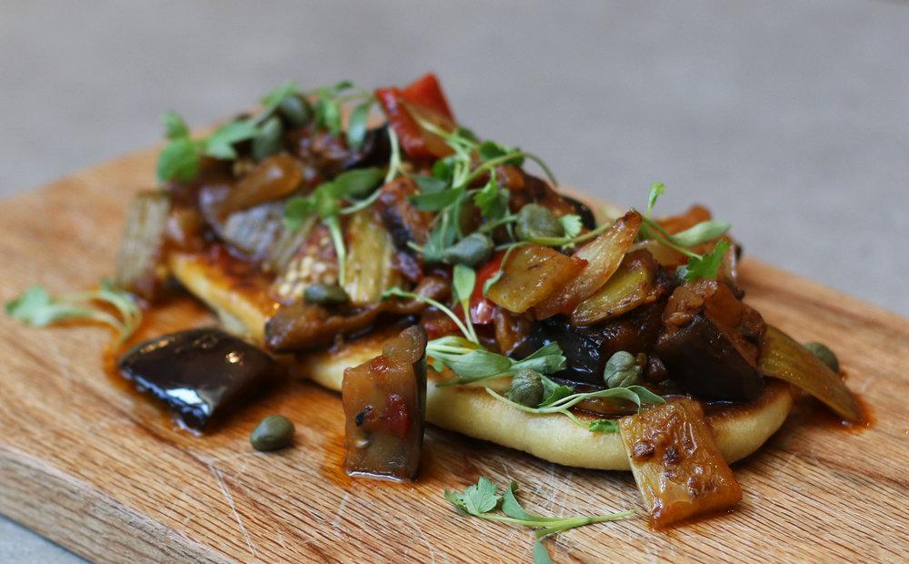Veggie Caponata with Eggplant