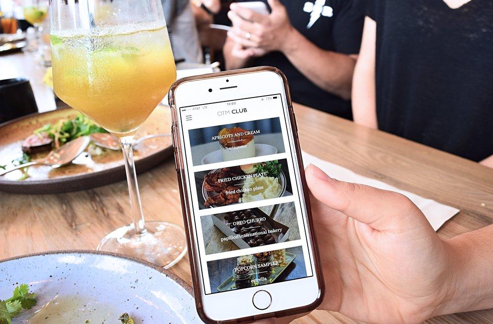 The  Off-The-Menu App