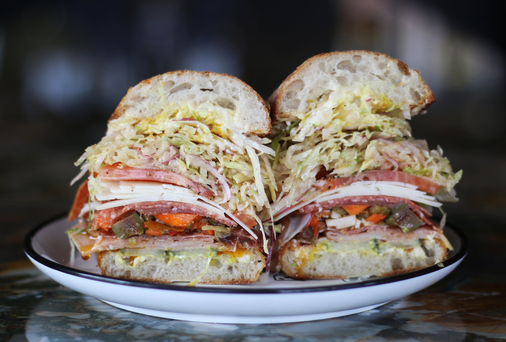 The Stepmother : Classic Italian Sub with the works
