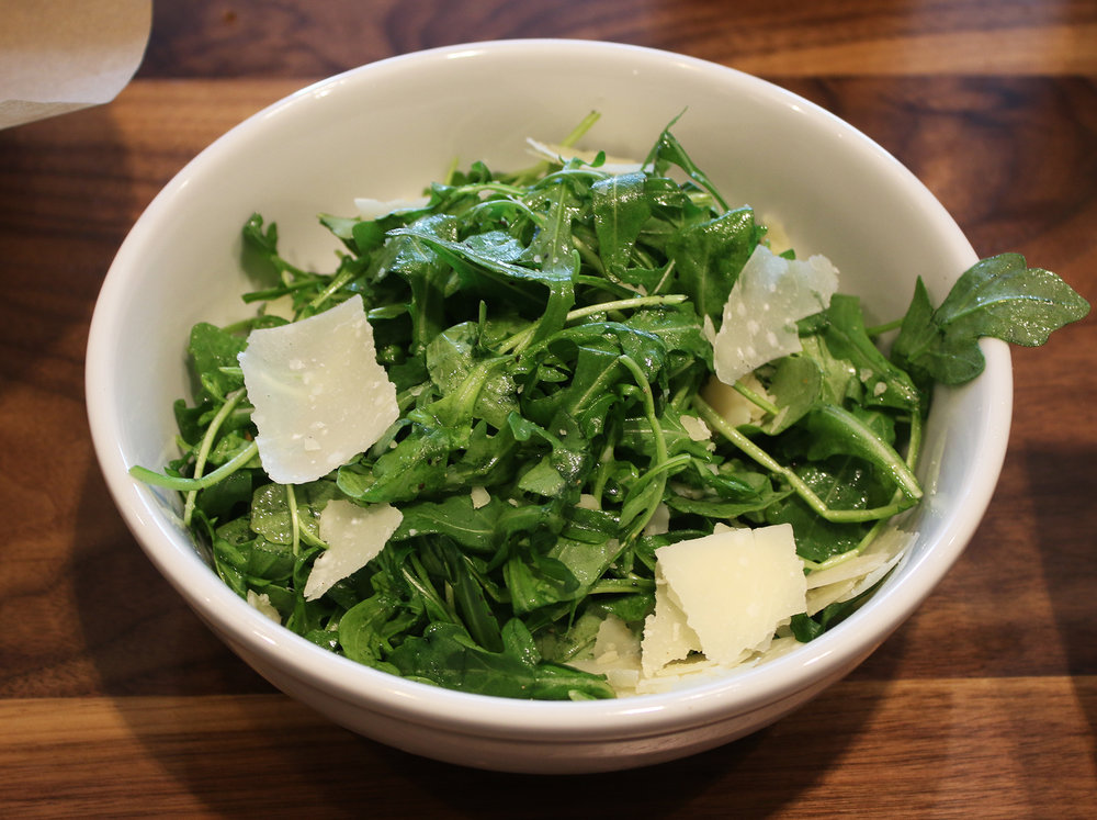 Fennel Salad:  w/ parmigiano, fresh lemon juice