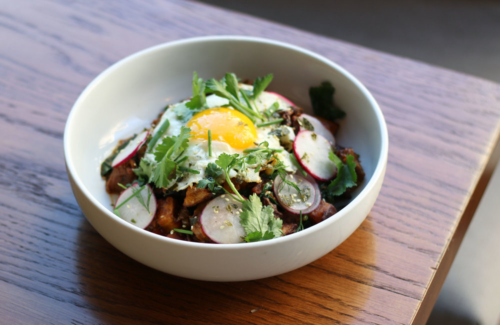 House-Smoked Brisket Hash